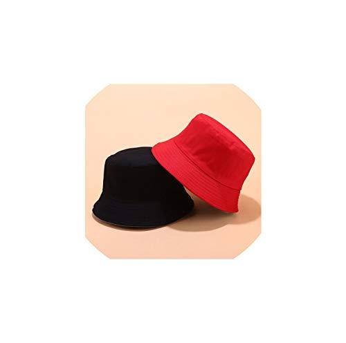 La Moda del Sombrero del Cubo Reversible Unisex Chapeau Pesca Senderismo Casquillo del Sombrero del Sol del Verano del Sombrero Panamá