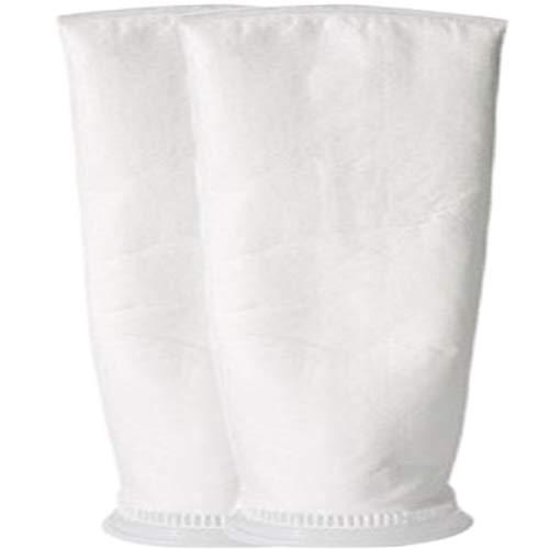 Bolsas de filtro de fieltro de 1 micrón / 5 micras / 150 micras - Anillo de 7 pulgadas por 32 pulgadas de largo - Calcetín de filtro de agua líquida - 2 unidades, 1 micron - 7 x 32 inch