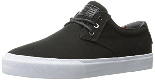 Lakai Men's daly Skateboarding Shoe, Black Canvas, 5.5 M US