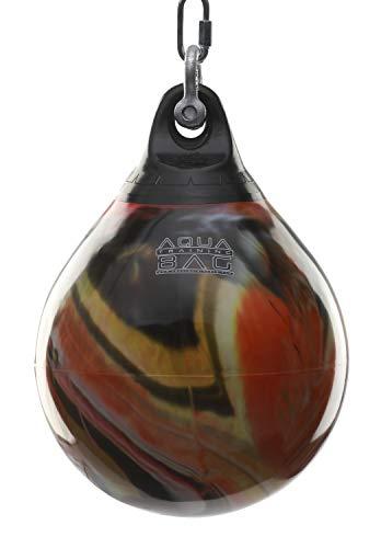 "Aqua Training Bag 15"" 75 Pound Heavy Punching Bag (Fireball Orange)"