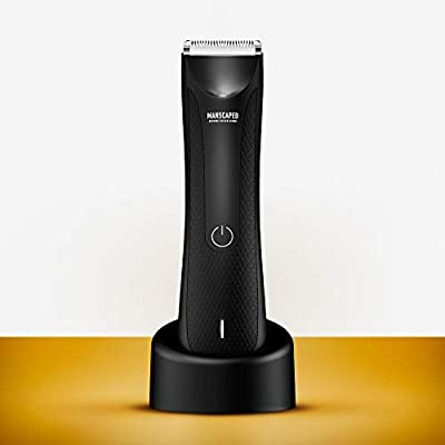 Manscaped Best Electric Manscaping Groin Hair Trimmer, Lawn Mower 3.0, Replaceable Ceramic Blade Heads, Waterproof Wet/Dry Clippers, Standing Recharge Dock, Ultimate Male Hygiene Razor