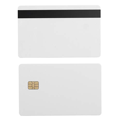 SLE4442 Chip Cards w/HiCo 2 Track Mag Stripe - 10 Pack