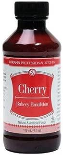 LorAnn Cherry Bakery Emulsion, 4 ounce bottle