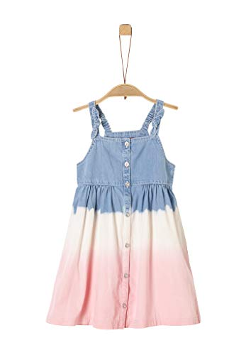s.Oliver Junior Mädchen 403.10.004.26.200.2038086 Kinderkleid, 53Y1 Blue Denim Non STR, 92/REG