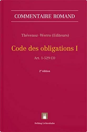 Code des obligations I: Art. 1-529 CO (Commentaire romand)