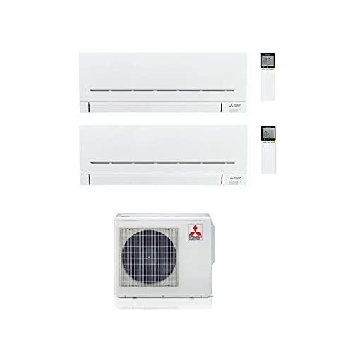 Climatizzatore MITSUBISHI ELECTRIC dual split mod. MXZ-2F42VF + MSZ-AP25VGK + MSZ-AP35VGK 9.000 + 12000 btu classe A+++/A++