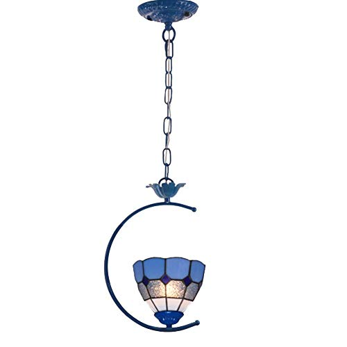 Kroonluchter, lamp, mediterrane stijl, glas, druppels, fijne hand, decoratief motief, unieke open haard, design voor balkon, slaapkamer, glas, ijzer, metaal