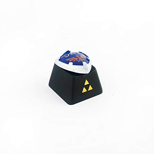 The Legend of Zelda Hylian Shield Keycaps for Mechanical Keyboards (Cherry switches)