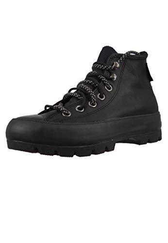 Converse Chucks Schwarz 566155C Chuck Taylor All Star Lugged Winter Boot HI - Black, Groesse:36 EU