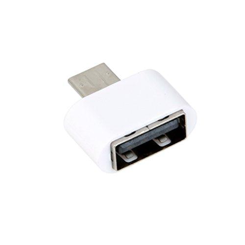 USB Hembra A Micro USB Macho Mini Adaptador del convertidor de OTG para Tableta Teléfono