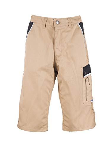 TMG® Pantalon Corto Trabajo Hombre Resistente   Pantalones de Trabajo de Hombre   para carpinteros, ebanistas, albañiles   Caqui   48