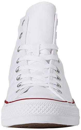 Converse Chuck Taylor All Star - Zapatillas infantiles de caña alta, color Blanco, talla 41/42 EU