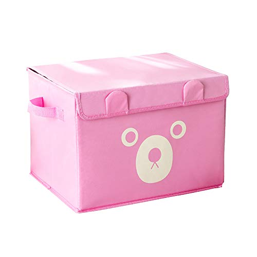 ZLZL Aufbewahrungsbox, Faltbarer Organizer WüRfelkorb Extra GroßE Oxford-Stoff-Cartoon-Kinderspielzeug-Aufbewahrungsbox...