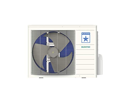 Blue Star 1.5 Ton 5 Star Inverter Split AC (Copper, IC518DBTU, Auto Adjustable, 2020 Model, White)