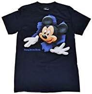 Mickey Mouse Parte Delantera y Trasera Boy de ruptura T Camisa – Azul Marino