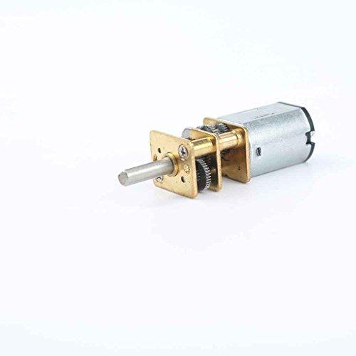 Regard L DC 12V 1: 1000 Übersetzungsverhältnis 20rpm / 30rpm / 40RPM DC-Getriebemotor, Metallreduktionsgetriebemotor großer Drehmomentgetriebemotor Metall DIY N20 Elektro-Getriebemotor