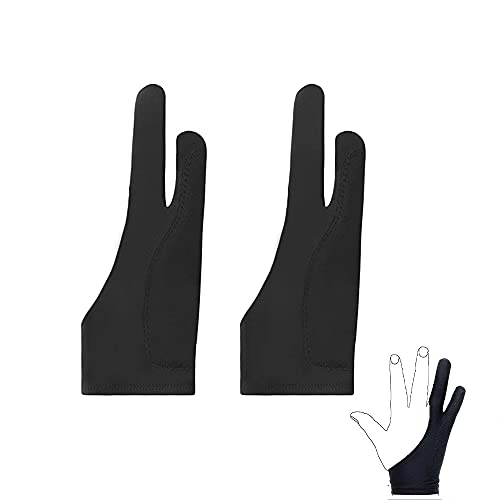 Artist Gloves, Two-Finger Gloves, Two-Finger Gloves for Sketching, Suitable...