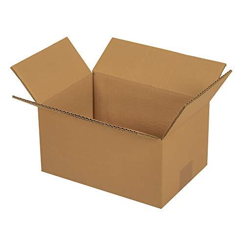 50x Faltkartons 260 x 170 x 120 mm | Versandkarton Kompatibel mit Versand durch DHL, DPD, GLS und Hermes | 25-1000 Kartons wählbar