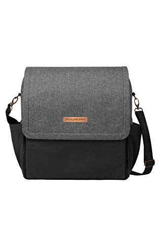 petunia pickle bottom Glazed Color Block Boxy Backpack Graphite/Black One Size