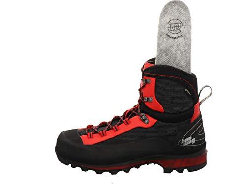 Hanwag Ferrata II GTX Schuhe Herren Black/red Schuhgröße UK 10,5   EU 45 2020