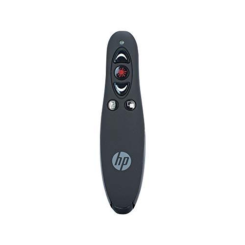 HP 3400 apuntador inalámbricos Negro - Accesorio para presentación de documentos (30 m, Negro, Puntero láser, Media player control, 61 g, 150 mm, 100 mm)