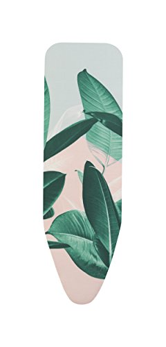 Brabantia - Funda para tabla de planchar B, 124 x 38 cm, juego completo, color Tropical Leaves