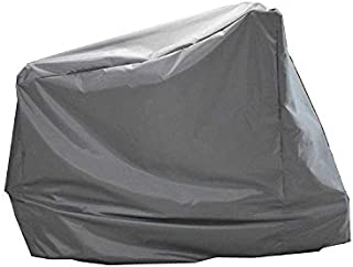 Exercise Bike Cover, Upright Indoor Cycling Protective Cover Dustproof Waterproof Cover and Water-Resistant Stationary Fitness Fabric Ideal for Indoor Or Outdoor Use (Gray)