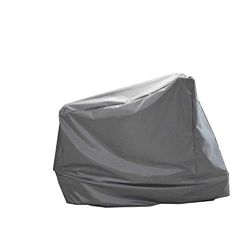Heimtrainer-Abdeckung, aufrecht, Fahrrad-Schutzhülle, staubdicht, wasserdicht, wasserdicht, für drinnen und draußen, Grau
