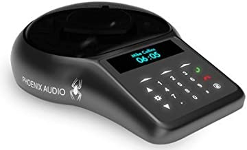 Phoenix Spider MT502 - USB & PSTN Speakerphone - 360º 16sqft of Coverage, Daisychain 15 Units. Perfect for Zoom Rooms, Huddle, Conference, Classrooms