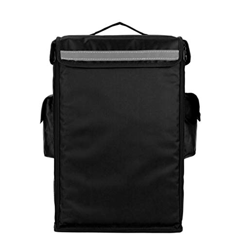 Insulated Food Delivery Backpack, Portable Insulated Cooler Bag, Pizza Delivery Bag Insulated, Commercial Transport Food Delivery Bag Durable for Uber Eats, DoorDash 15' L x 10' W x 19' H