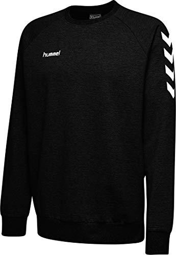 Hummel Herren Hmlgo Cotton Sweatshirt, Schwarz, M EU
