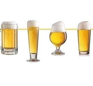 Folat B.V- Folat Guirnalda de fiesta de cerveza con decoración, Multicolor (5398)
