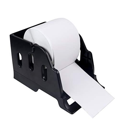 LabelRange Label Holder for Rolls and Fanfold Labels - Desktop Label Printer Accessory