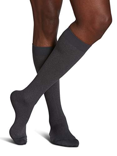 SIGVARIS Men's Microfiber Patterns 183 Calf High Compression Socks 15-20mmHg
