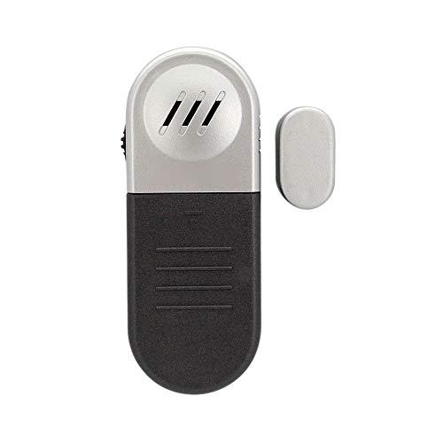 Sensor de puerta inalámbrica de alarma Chime 2 PAQUETES DE VENTANA DE VENTANA Alarmas para la seguridad del hogar 100dB Sensor Magnético Piscina para la seguridad de los niños Tienda de la puerta de l