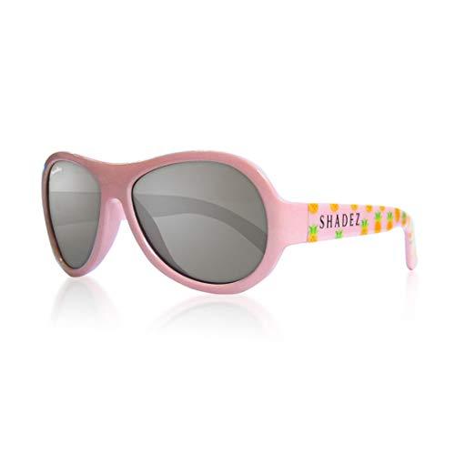 Shadez Sonnenbrille für Kinder, Uva und Uvb, Größe Baby – Rosa mit Ananas – 30 g