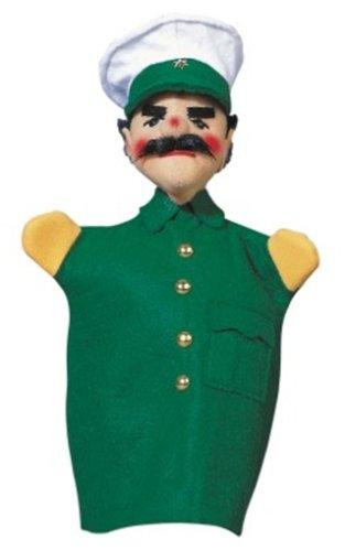 Kersa 12470 - Kasperfigur Polizist, 30 cm Handpuppe