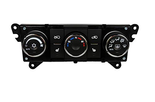 GM Genuine Parts 15-74121 Heating and Air Conditioning Control Panel with Driver and Passenger Seat Heater