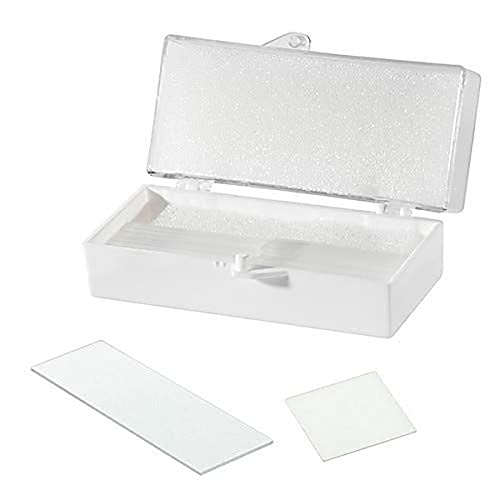 Chemglass CLS-1764-1818, Square Cover Slip, 1.5 Corning 0211 Glass, 18mm Width, 18mm Length, 1 Oz, Approx 209/Oz