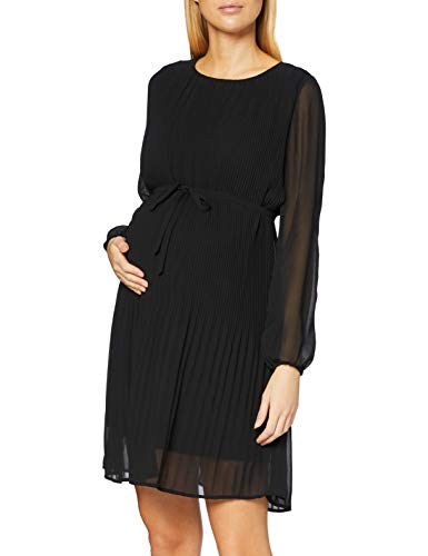 Noppies Studio Dress LS Sakado Vestido, Black-P090, XL para Mujer