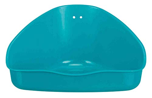 Trixie 62551 Ecktoilette für Kleinkäfige, farblich sortiert