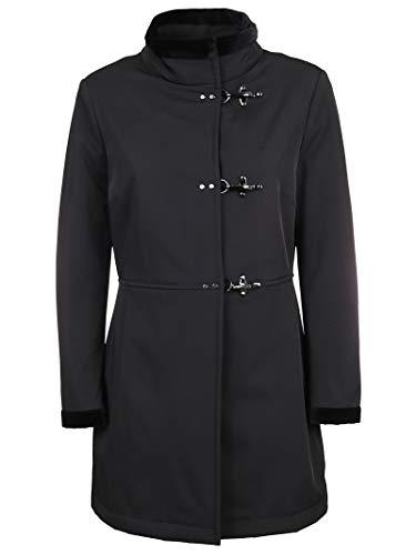 Fay Luxury Fashion Donna NAW5739331SFKHB999 Nero Elastan Cappotto   Autunno-Inverno 19