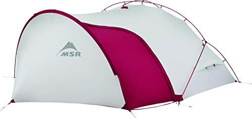 Msr Hubba Tour 2 Tent White/Red One Size
