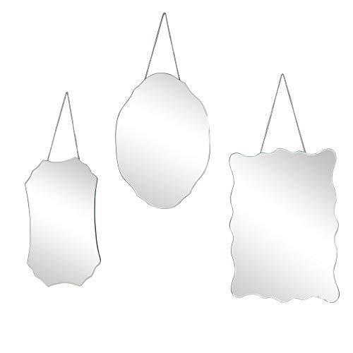 Melody Maison Set of 3 Wall Mirrors