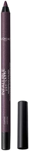 L Oreal Paris Makeup Infallible Pro Last Pencil Eyeliner Waterproof and Smudge Resistant Glides product image
