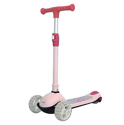 SZTUCCE Scooter Scooter para niños - Scooter Plegable para niñas niños Stunt Scooter Completo Truco Scooters intermedio y Principiante Estilo Libre Trucos Scooters para 8 años y hasta Scooter con asa