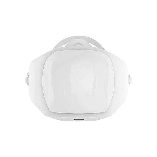 YUHUANG Máscara neblina eléctrico, al Aire Libre esterilización Ciclismo Anti-Niebla con Humo máscara Reutilizable Equipado con Filtro de algodón-con 30 filtros,White