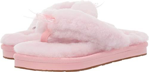 UGG Female Fluff Flip Flop III Slipper, Seashell Pink, 5 (UK),38(EU)