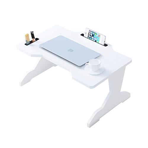 TLMY Mesa de cama portátil plegable para ordenador portátil, bandeja de regazo para leer el piso, mesa plegable para niños (color A: A)