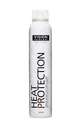 Vision Haircare - Heat Protection 200ml - Spray che protegge i capelli dai danni del calore, mentre li rende più luminosi con Vitamina B